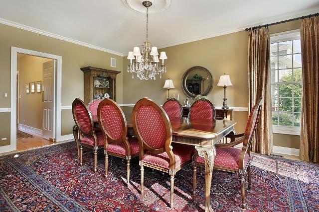 Polster klinik tappezziere tende tende per sala da pranzo - Tende per sala da pranzo classica ...